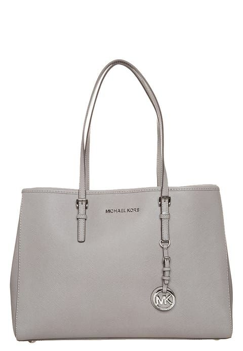 MICHAEL Michael Kors JET SET TRAVEL  - Borsa a mano - pearl grey a € 192,00 Zalando.it
