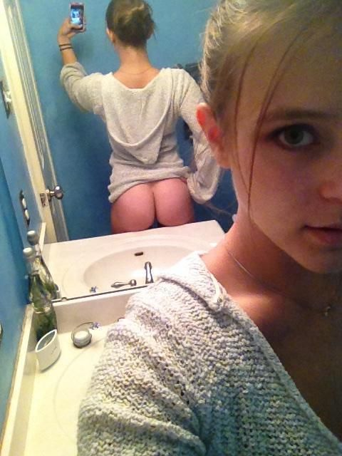 amature young girlfriend sexting naked