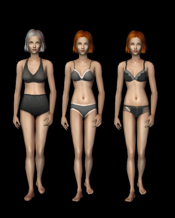 DEFAULT: UFBODYNAKED default female underwear for all ages, using 3t2 conversions. DOWNLOAD