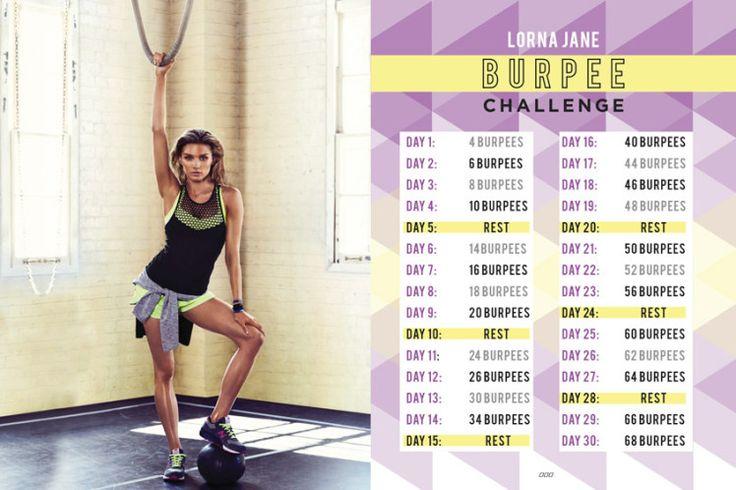The Lorna Jane Burpee Challenge... Who's In? - Move Nourish Believe  I'm in !