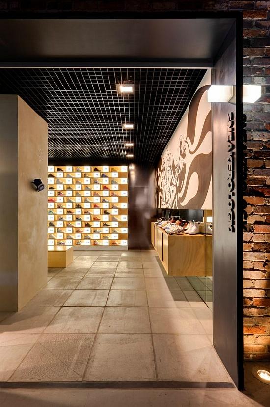 Sneakerology, Shoe Store Interior by Facet Studio