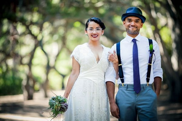 Artistic Post-Apocalyptic Nature Woodland California Wedding http://www.lovatoimages.com/