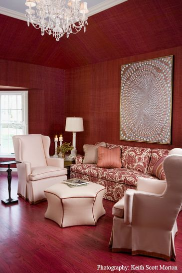 Jamie drake   Jamie Drake   Fairfield  CT   Red InteriorsRed RoomsDrakeSouth  Shore DecoratingDecorating  133 best COLOR RED ROOMS   DECOR images on Pinterest   Red rooms  . Red Room Decor. Home Design Ideas