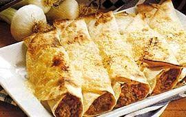 Tortilla med köttfärs