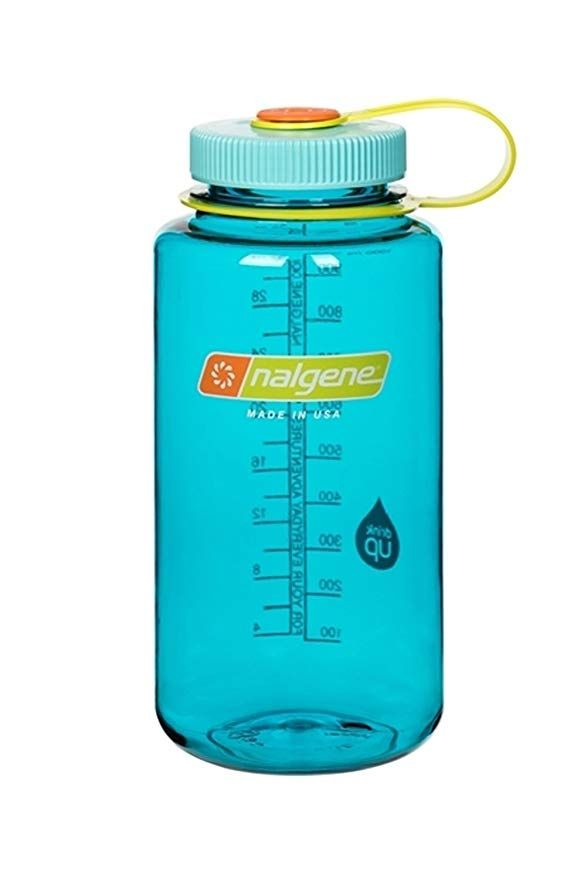 Amazon Com Nalgene 32 Ounce Wide Mouth Cerulean Gateway Nalgene Water Bottle Nalgene Water Bottle