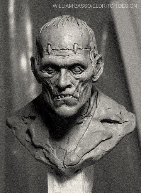 Frankenstein's Monster sculpture
