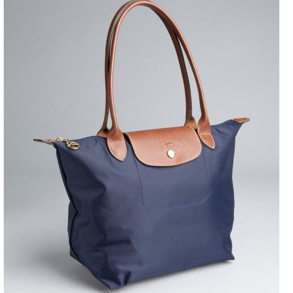 Long Champ navy blue bag In good pre-owned condition Longchamp Bags