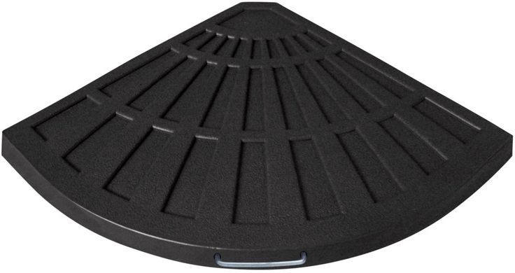 "Bond 60479A Offset Umbrella Sector Base, Black, 25.98"" x 19.09"" x 1.65"""