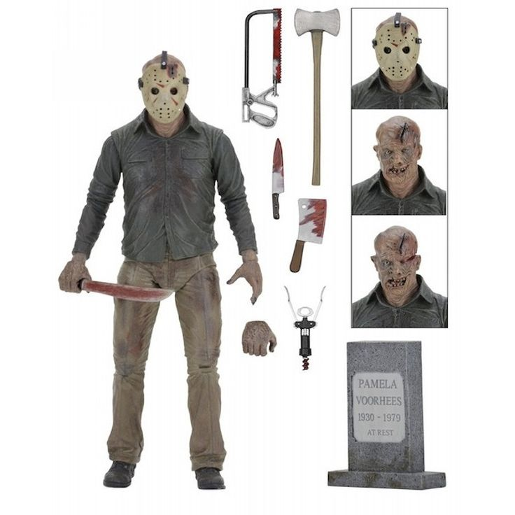 Friday the 13th Ultimate Part 4: The Final Chapter Jason Action Figure