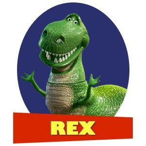 """Which """"Toy Story"""" Character Are You?  You got: Rex You're Rex! You're loyal, funny, and love feeling needed. You may not be as ferocious as you'd like, but who cares? You don't have a cruel bone in your body, and your friends love that about you."""