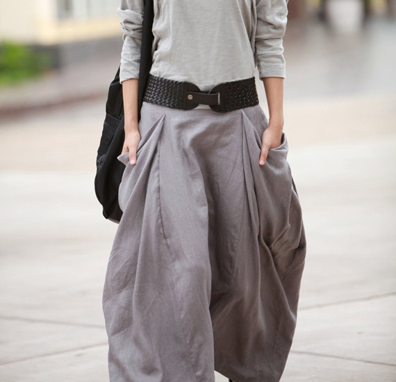 ...: Neutral Fashion, Casual Chic, Maxi Outfit, Casual Skirts, Big Pockets, Grey Pants, Cute Pants, Poofy Skirts, Maxi Skirts