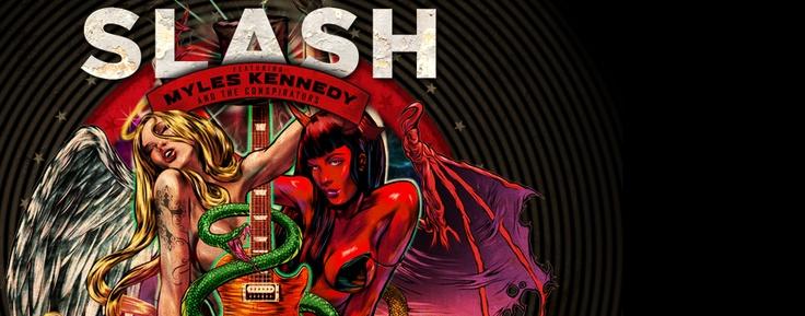 """Slash """"Apocalyptic Love"""" – Sydney Entertainment Centre - Pre/Post Show Hangout - Palace Hotel Sydney"""