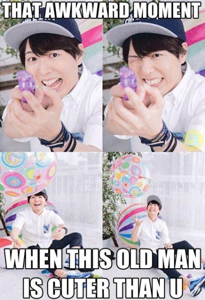 This is really awkward -_- #hiroshi #kamiya #hiroC #kamiyan #seiyuu