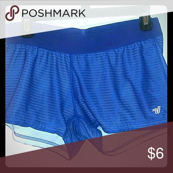 Varsity Cheer Shorts Royal blue cheer shorts (Juniors size Med). Varsity Shorts