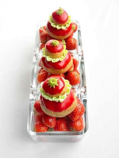 Les 413 meilleures images propos de gateaux sur pinterest - Quel fraisier choisir ...