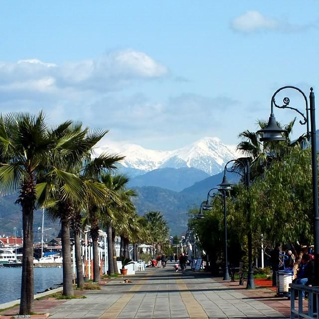 It does not matter whether it is summer of winter - #Fethiye always looks great! Welcome to #Turkey, welcome to Fethiye!