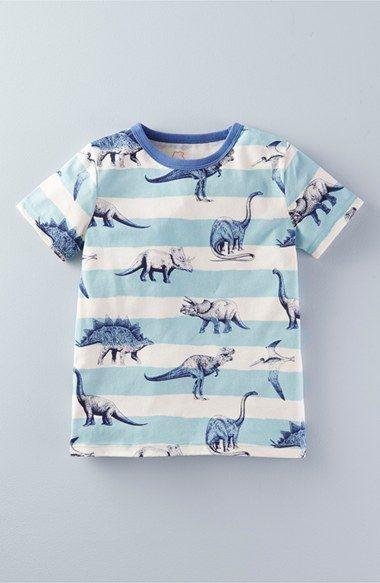 Mini Boden Print Cotton Jersey T-Shirt (Toddler Boys, Little Boys & Big Boys)