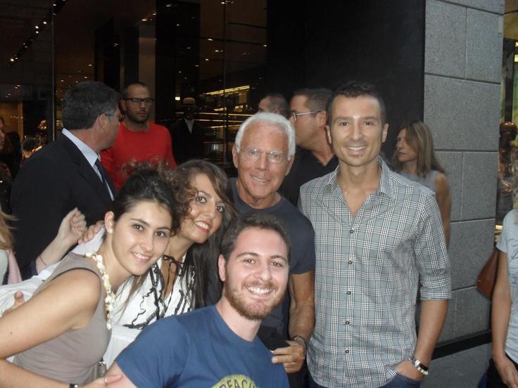 Con Re Giorgio...