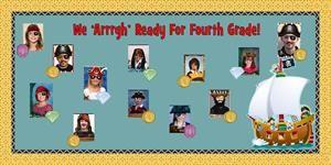 Arrr Class is Arrr Treasure! - Pirate Themed Welcome Board