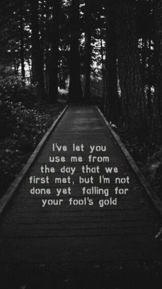 Fools gold lyrics - One Direction
