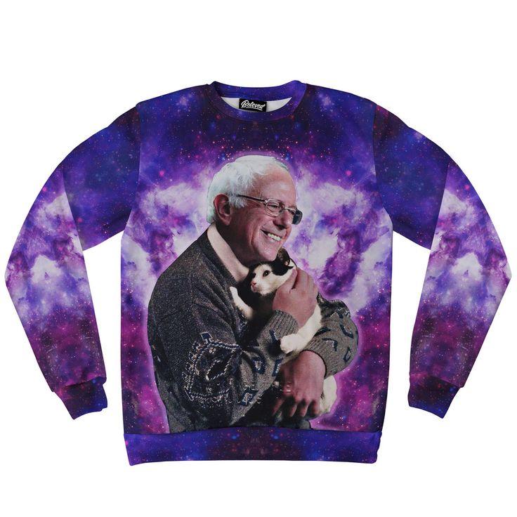 Beloved Shirts presents the Bernie Cat Sweatshirt
