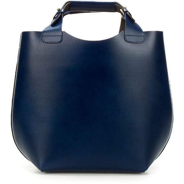 Leather Shopper ... zara