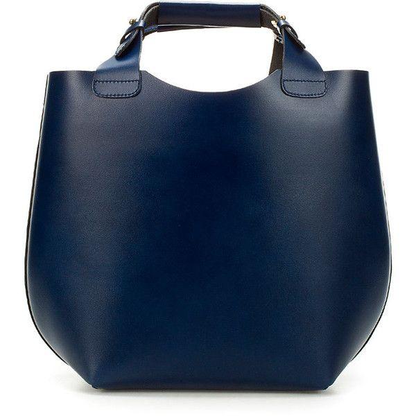 25  best ideas about Handtasche dunkelblau leder on Pinterest ...