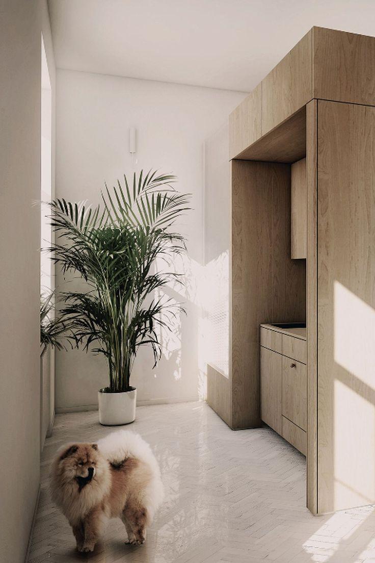 PERŁA BREWERY APARTMENTS | herringbone wood floor, palm, oak
