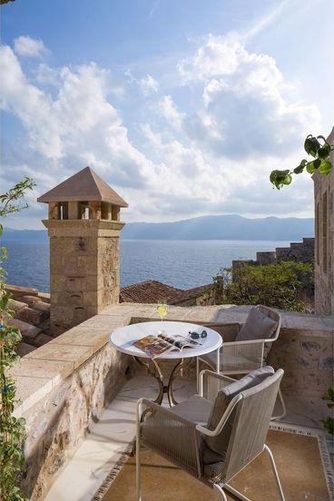 GREECE CHANNEL | Moni Emvasis Luxury Suites - Monemvasia, Peloponnese