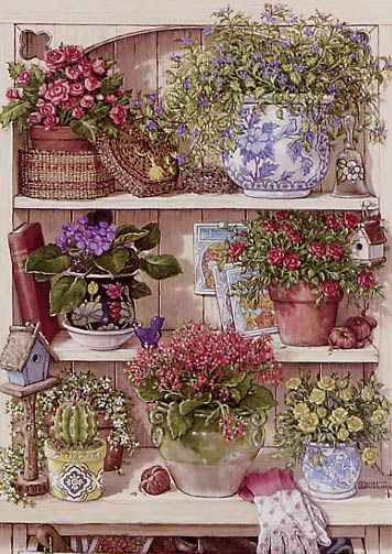 Janet Kruskamp - 'Flower Cupboard'.