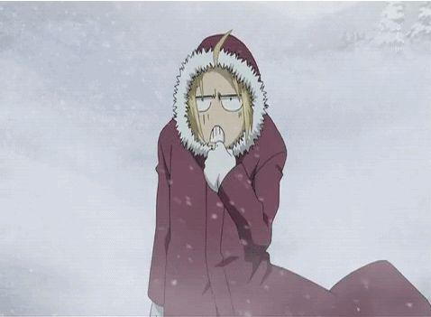 Que venga el frío, que venga el frío...ya estáis contentos no ❄️ ?