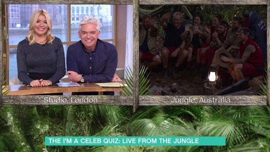 I'm A Celeb quiz LIVE from the Jungle 🐍