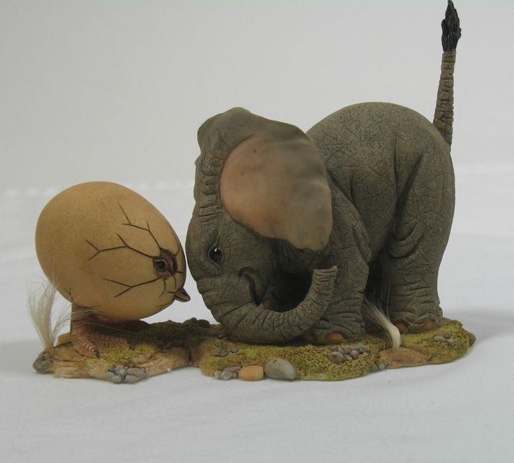 Country Artists Tuskers Shell Shocked Elephant Figurine CA91034 91034 New  W/Box Picclick.com