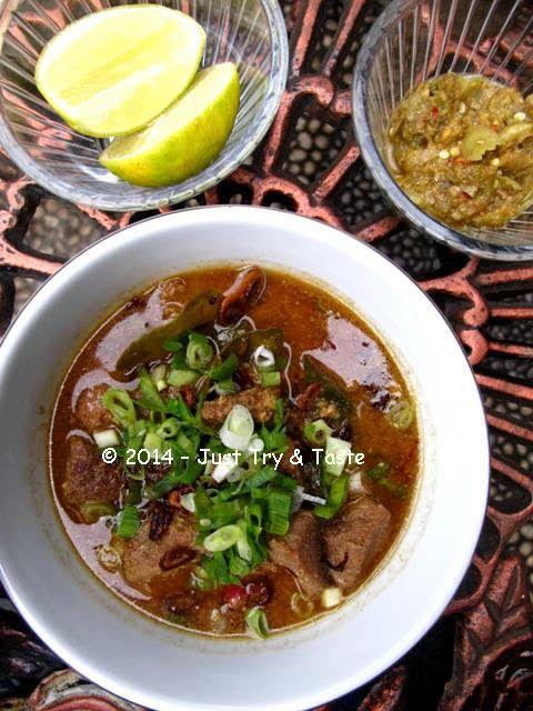 Just Try & Taste: Coto Makassar a la Mitzui