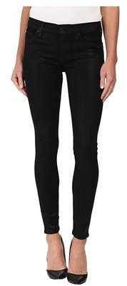 Hudson Krista Coated Super Skinny Jeans.