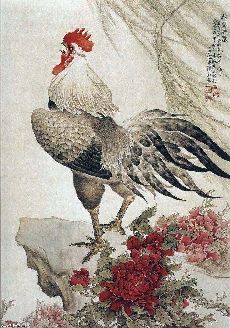 Китайский художник Фэн Инцзе
