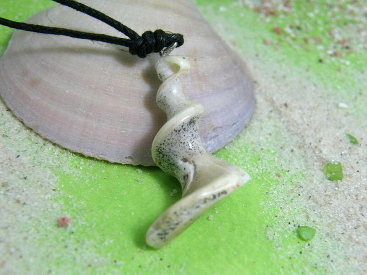 Naturstein Spirale vom Strand Kretas von SonnenRegen auf DaWanda.com
