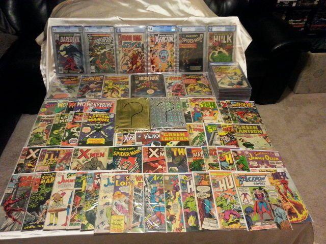 Silver age Comic Grab Bags MarveldcSpider-manDaredevilThorHulkAvengers #1
