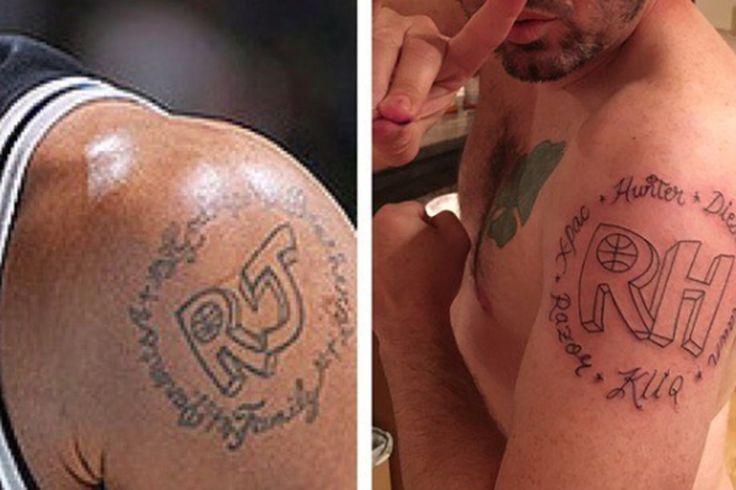 Warriors fan lost a bet and got an even worse version of Richard Jefferson's tattoo