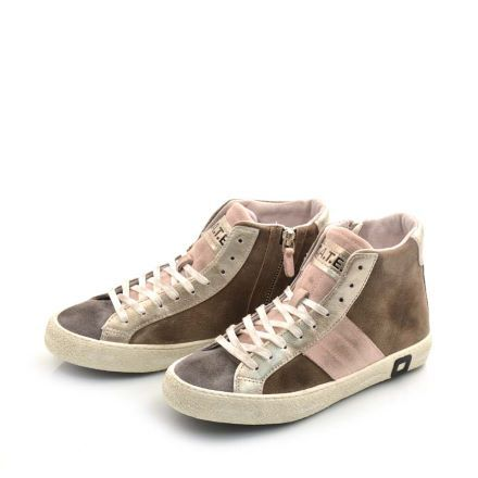 DATE HILL HIGH SUEDE WMNS HILL HIGH SUEDE TAUPE