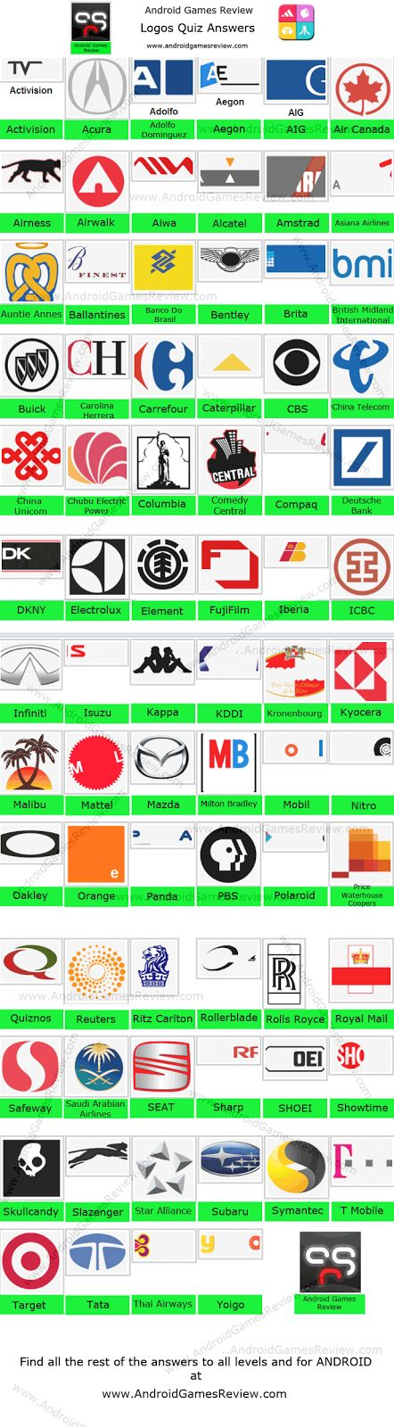 8 best logo quiz cheats images on pinterest game logo