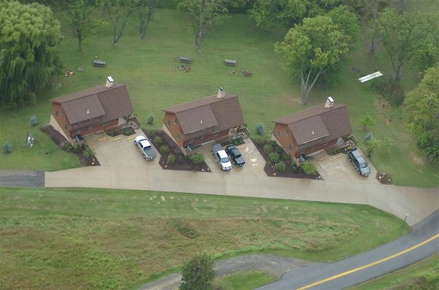 Grand Vue Park WV, the deluxe cabins are absolutely wonderful and ideal for family reunions and outings!