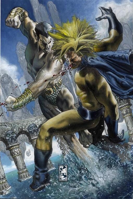 Namor The Sub-Mariner vs Sentry by Simone Bianchi #namor #simonebianchi