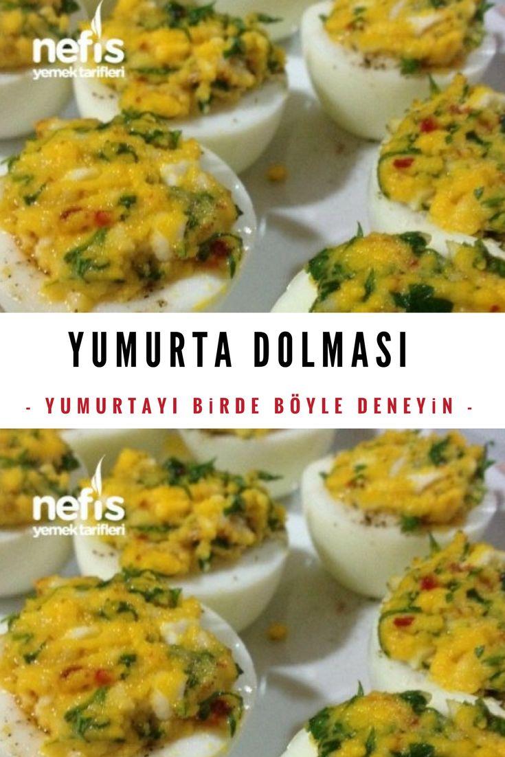 Yumurta Dolması #yumurtadolması #yumurtalıtarifler #aperatifler #nefisyemektarifleri