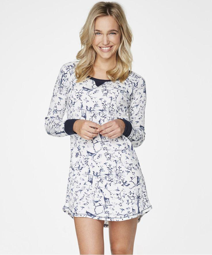 Nachthemd Waffle - Nachthemden - Nachtwäsche