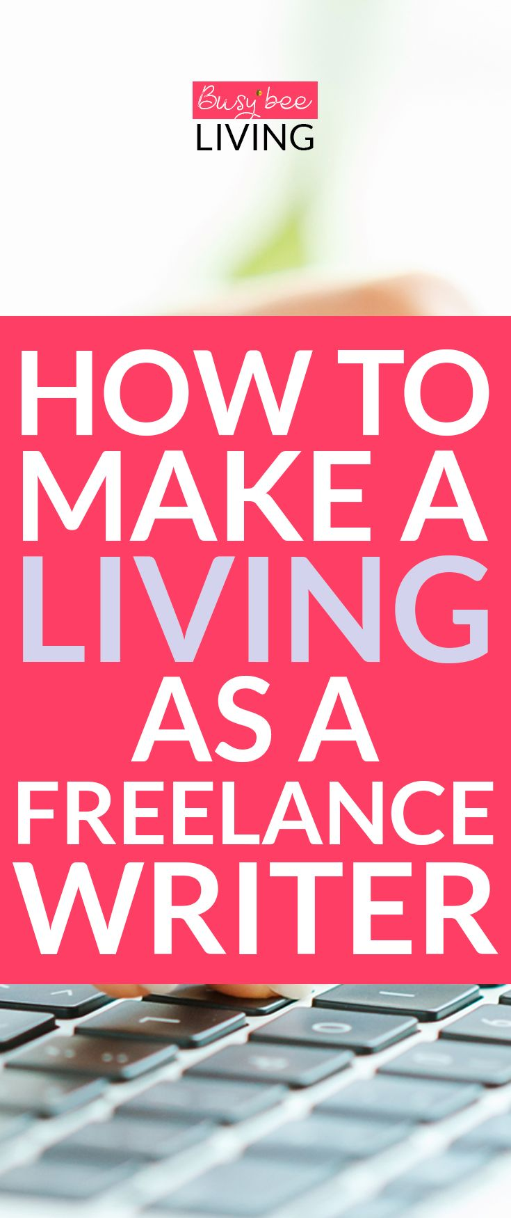 Want to make money online? Become a freelance writer! You can work whenever you want and earn as much as like! This is the perfect way to work from home and set your own hours. Great for stay at home moms or students who need to pay off any student loans. #sidehustle #workfromhome #makemoneyonline #business