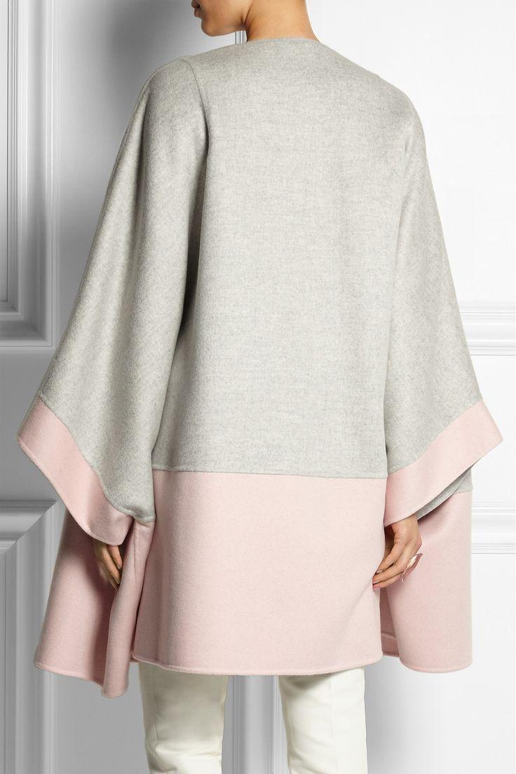 Fendi|Two-tone cashmere coat |NET-A-PORTER.COM
