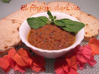 El fogón de Eva: Pesto rosso siciliano