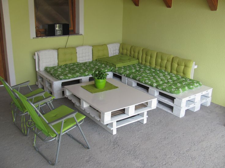 MY PALLETS BALCONY SET #BalconySet, #Lounge, #Pallet