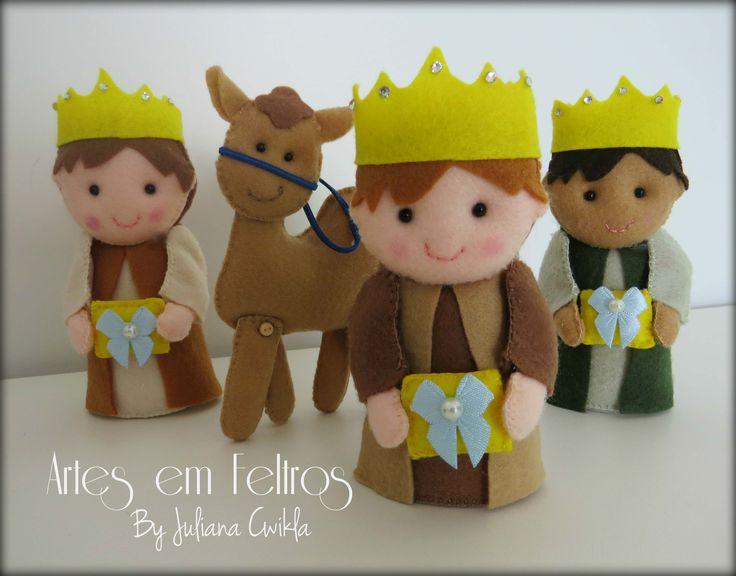 Famoso 82 best PRESEPIO FELTRO images on Pinterest | Nativity sets  BW18